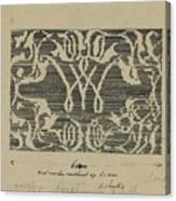 Decorative Design In National Colors, Carel Adolph Lion Cachet, 1874 - 1945 Canvas Print