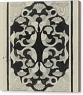 Decorative Design With Fish, Carel Adolph Lion Cachet, 1942 Canvas Print
