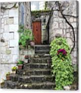 Decorative Stairway Canvas Print