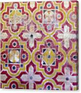 Decorative Tiles Islamic Motif  Canvas Print