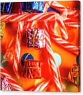 Decorative Xmas Canvas Print