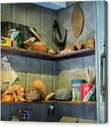 Decoy Workshop Shelves Canvas Print