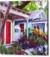 Dee Dee's Street Canvas Print