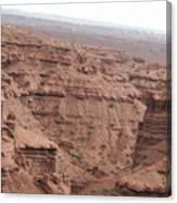 Deep Canyon In Utah Canvas Print