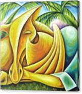 Deep Dream Canvas Print