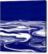 Deep In Blue Canvas Print