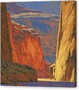 Deep In The Canyon Canvas Print