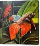 Deep Sea Fish Canvas Print