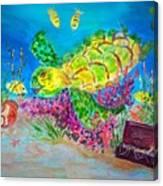 Deep Sea Treasures Canvas Print