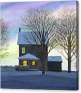 Deep Snow 2003 Canvas Print