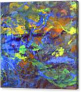 Deep Space Abstract Art Canvas Print