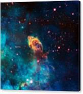 Deep Space Smoke Canvas Print