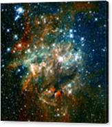 Deep Space Star Cluster Canvas Print