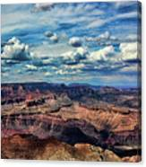 Deep Tones Grand Canyon  Canvas Print