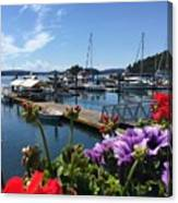 Deer Harbor By Day Canvas Print