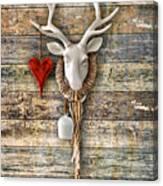 Deer Heart - Hirschherz Canvas Print