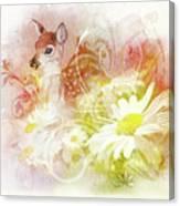 Deer One Canvas Print