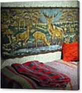 Deer Room Canvas Print