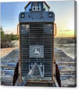 Deere Heavy Equipment  Canvas Print
