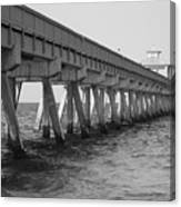 Deerfield Beach Pier Canvas Print