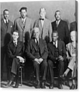 Defendants And Naacp Counsel Canvas Print