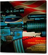 Defender Of Freedom - 2nd Ammendment Canvas Print