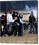 Defending The Artillery Canvas Print