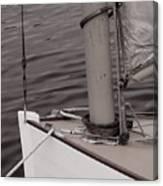 Defining A Catboat Canvas Print