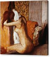 Degas: After The Bath Canvas Print