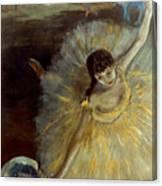 Degas: Arabesque, 1876-77 Canvas Print