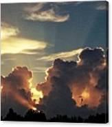 Degas Clouds #2 On Florida Sky Canvas Print