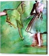 Degas' Dancers Canvas Print