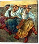 Degas: Dancing Girls, C1895 Canvas Print