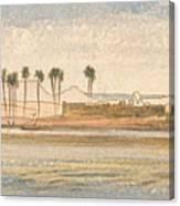 Deir Kadige, 1 P.m., January 2, 1867 Canvas Print