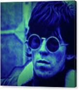 Deja Blue Rolling Stones Bill Wyman Canvas Print