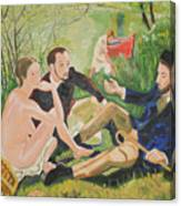 Dejeuner Sur L'herbe Canvas Print