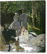 Dejeuner Sur Lherbe Canvas Print