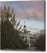 Del Coronado Brushes Canvas Print