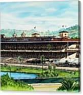 Del Mar Race Track Canvas Print