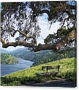 Del Valle Reservoir Canvas Print