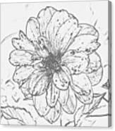 Lush Blossom Canvas Print