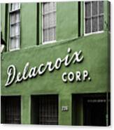 Delacroix Corp., New Orleans, Louisiana Canvas Print