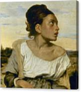 Delacroix: Orphan, 1824 Canvas Print