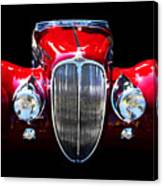 Delahaye Reinterpreted Canvas Print