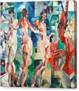 Delaunay: City Of Paris Canvas Print