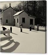 Delaware And Raritan Canal 3 Canvas Print
