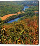 Delaware River From The Appalachian Trail Canvas Print