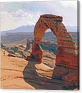 Delicate Arch 3 Canvas Print