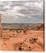 Delicate Arch Panoramic Canvas Print