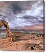 Delicate Arch Canvas Print